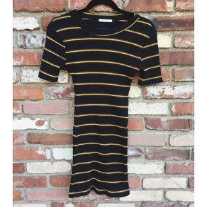 Zara fitted T-shirt dress